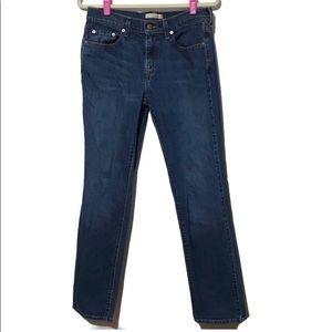 Levi's 505 Straight Leg Jeans Size 8 Long